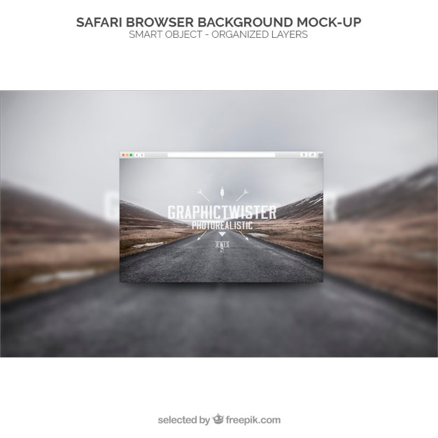 Safari Web Browser Template