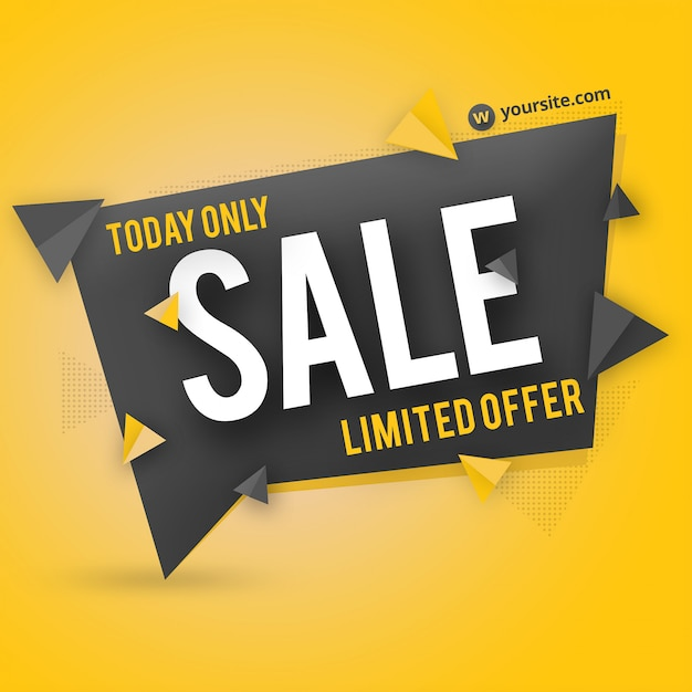 Sale banner badge psd Premium Psd
