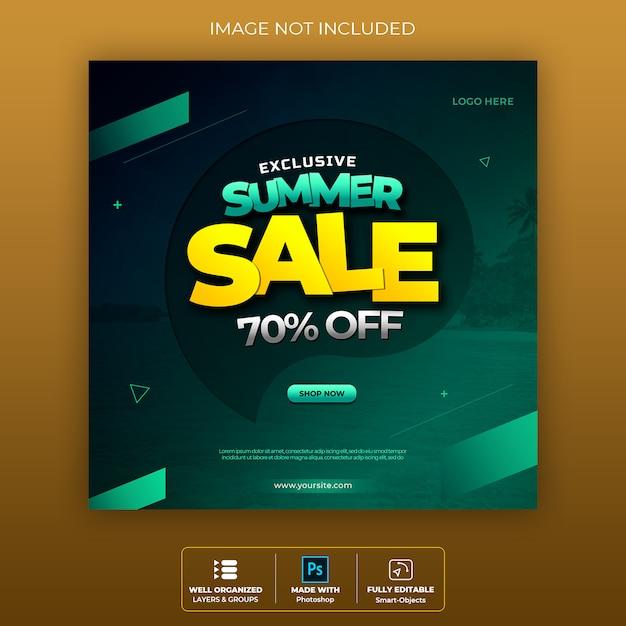 Sale banner badge socila media premium Premium Psd