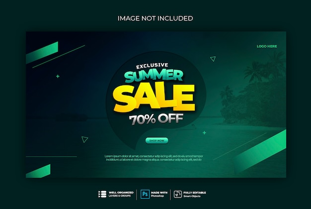 Sale banner badge web banner template Premium Psd