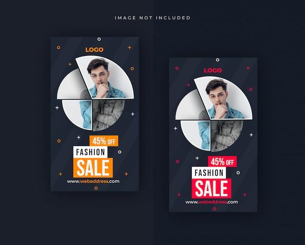 Sale facebook or instagram story  design Premium Psd