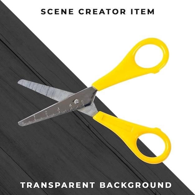 Ножницы объектные прозрачные psd Бесплатные Psd
