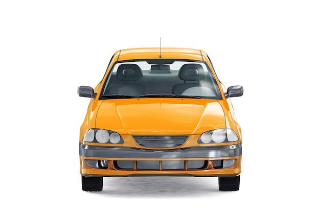 Sedan car 1997 mockup Free Psd