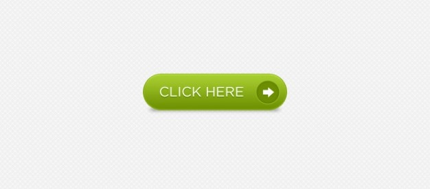 Sexy green download button Free Psd