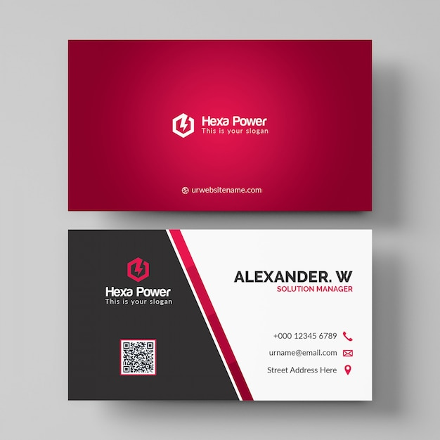 Shiny red business card mockup psd file premium download shiny red business card mockup premium psd reheart Images