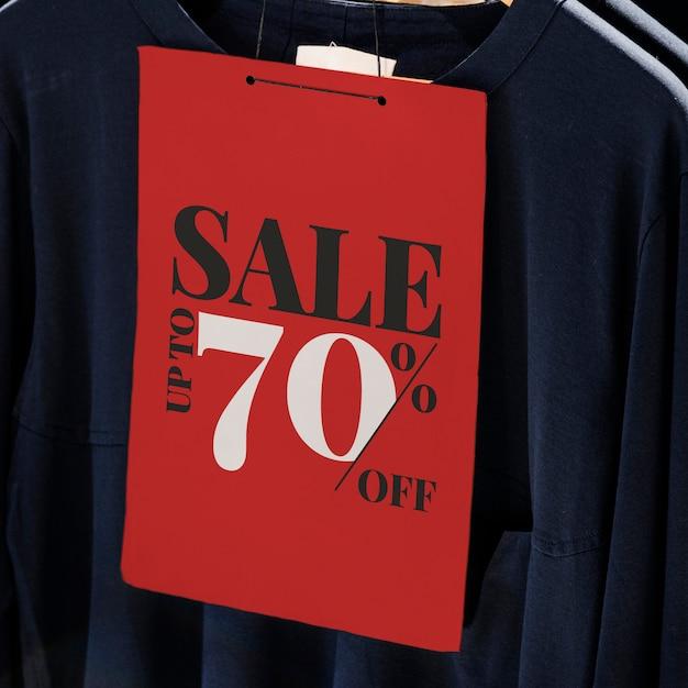 Shop discount label Free Psd