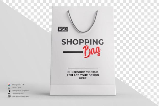 Shopping bag mockup editable color Premium Psd