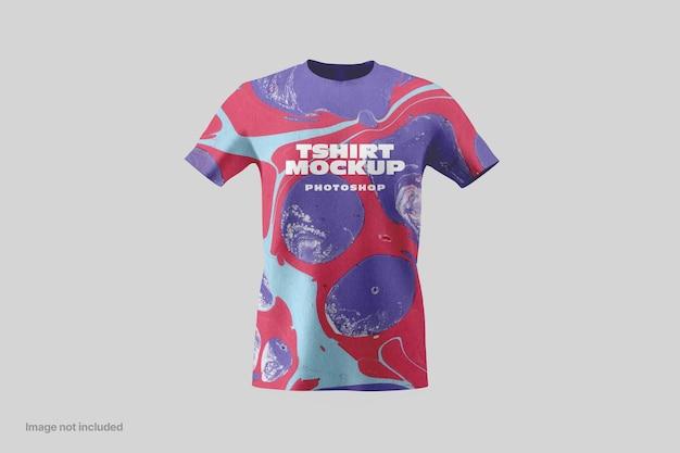 반팔 티셔츠 목업 프리미엄 PSD 파일