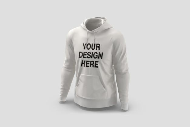 Showcase of hoodie mockup design rendering isolated Premium Psd