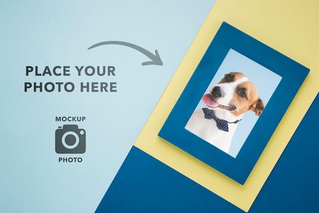 写真用のシンプルなフレーム 無料 Psd