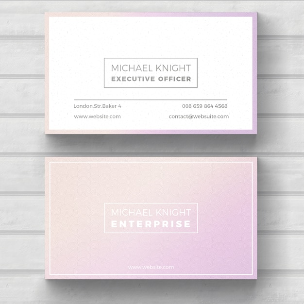 simple minimal business card free psd - Minimal Business Card