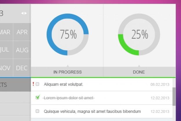 simple task management system psd file