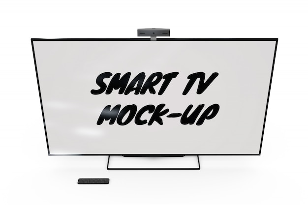 Smart tv mock-up isolated Free Psd