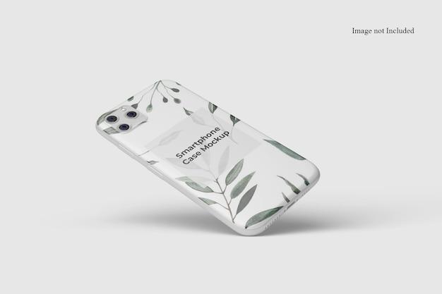 Smartphone case mockup design isolated Premium Psd