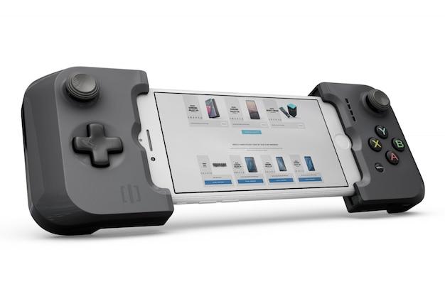 Smartphone controller mockup Free Psd