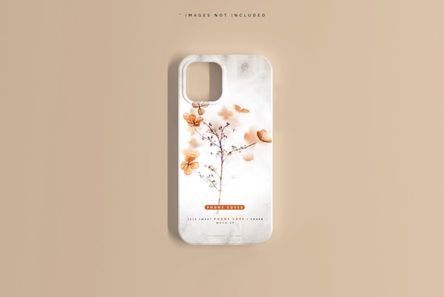 Smartphone cover or case mockup Free Psd