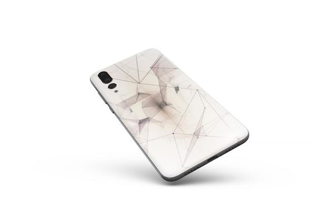 Smartphone cover mockup Free Psd