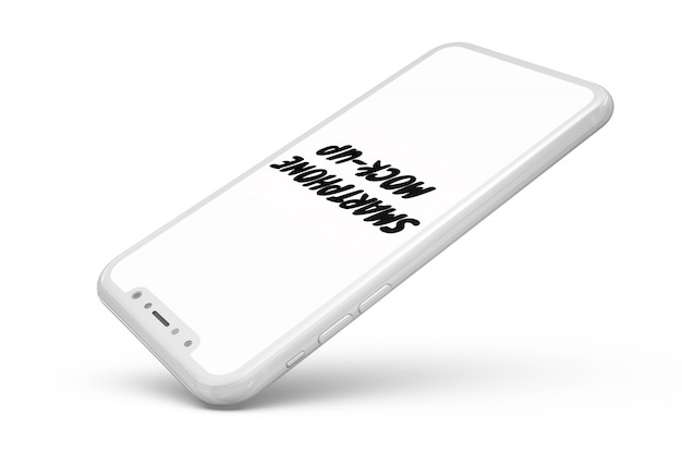 Smartphone mock-up isolated Free Psd
