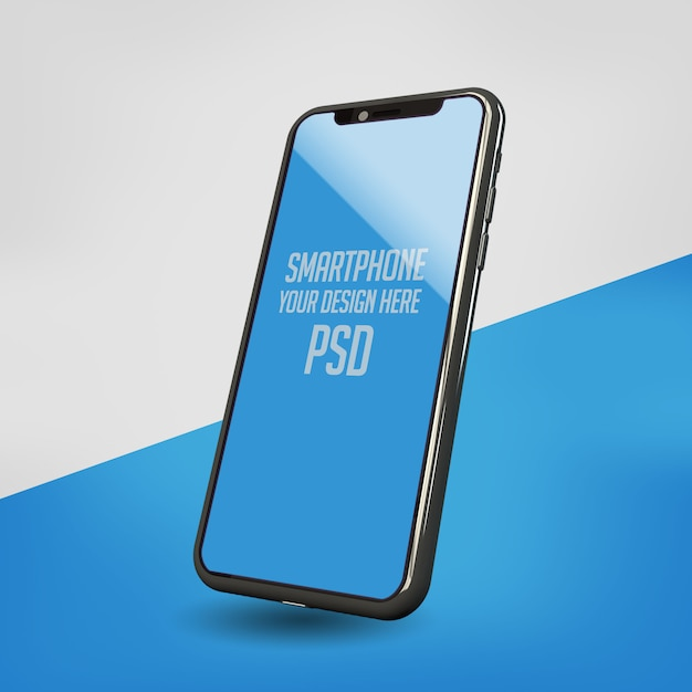 Смартфон макет Premium Psd