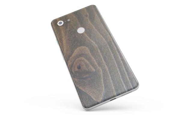 分離されたスマートフォンの皮膚 無料 Psd