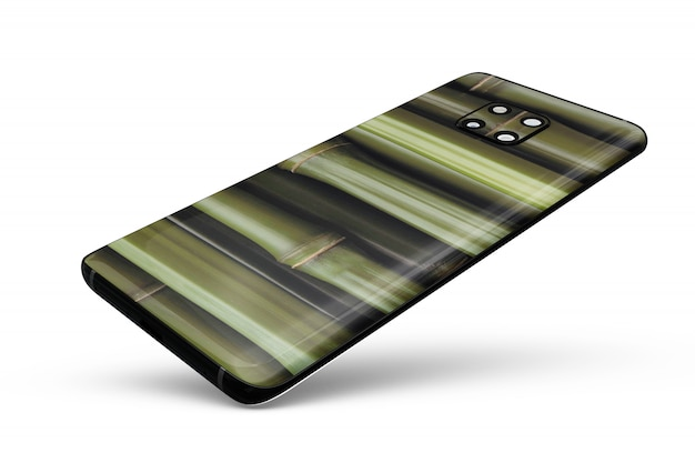 Smartphone skin mock-up isolated Free Psd