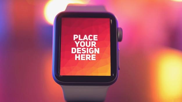 Smartwatch display Premium Psd