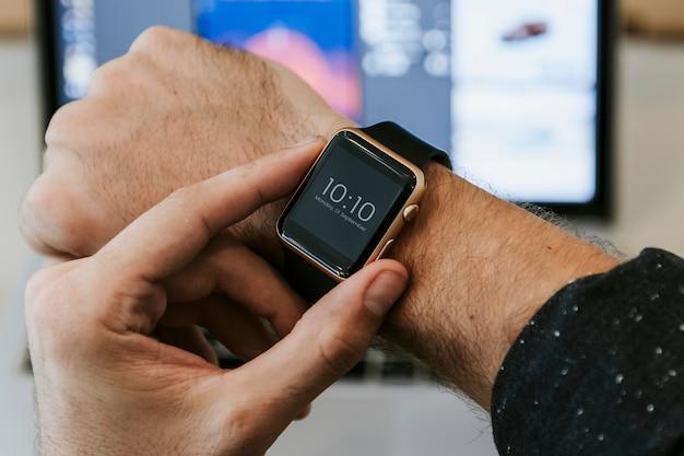 Smartwatch mockup Free Psd