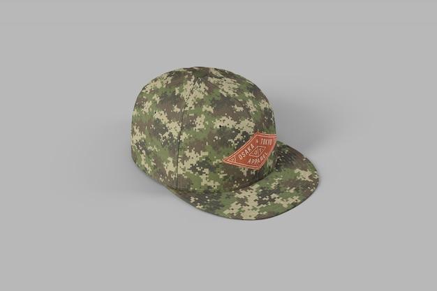 Snapback full cap mockup Premium Psd