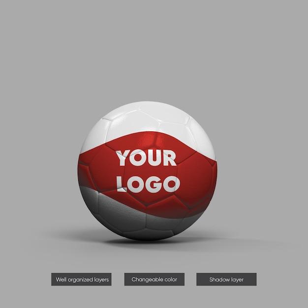 Soccer ball mock-up Premium Psd