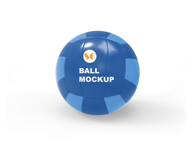 Soccer ball mockup psd file Premium Psd