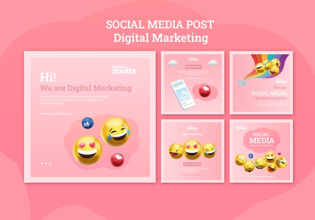 소셜 미디어 instagram 게시물 무료 PSD 파일