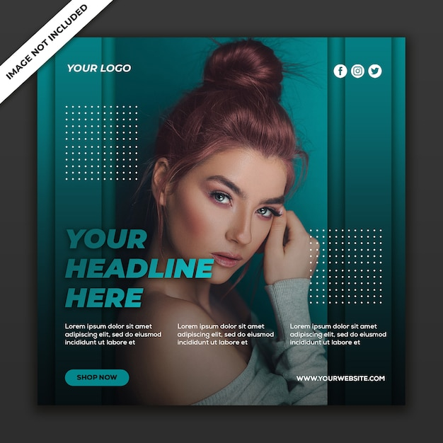 Social media post template instagram fashion sale collection Premium Psd