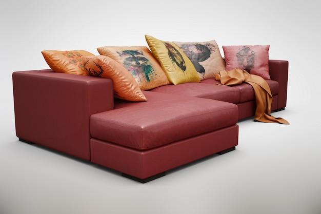 Sofa Mock Up Free Psd