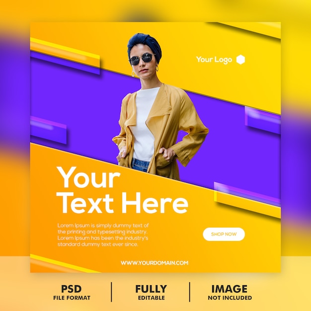 Special sale banner template Premium Psd