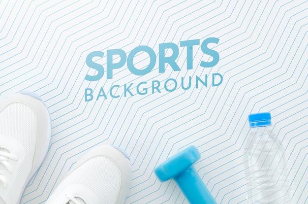 모형을 이용한 스포츠 및 수화 무료 PSD 파일