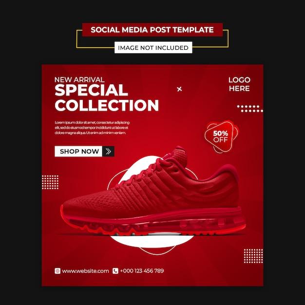 Sport sales post template Premium Psd