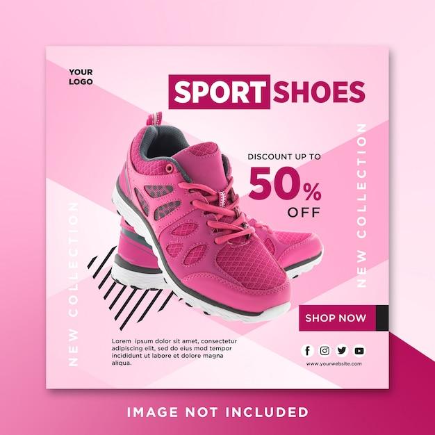 Premium PSD | Sport shoes sale social