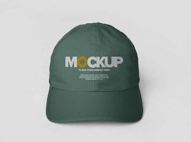 스포츠 모자 로고 모형 디자인 절연 프리미엄 PSD 파일