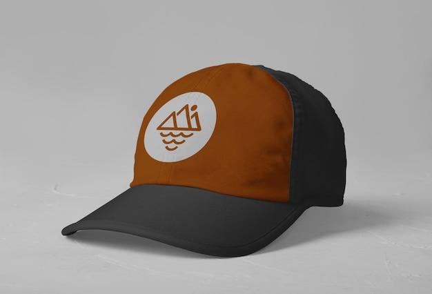 스포츠 모자 로고 모형 절연 프리미엄 PSD 파일