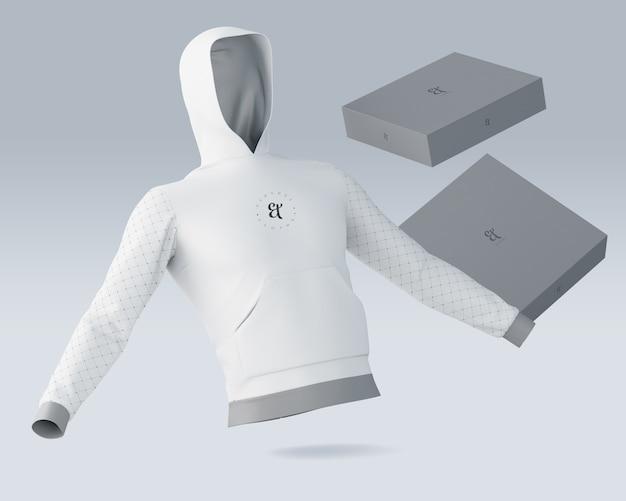 Sports shirt mockup with brand logo Free Psd