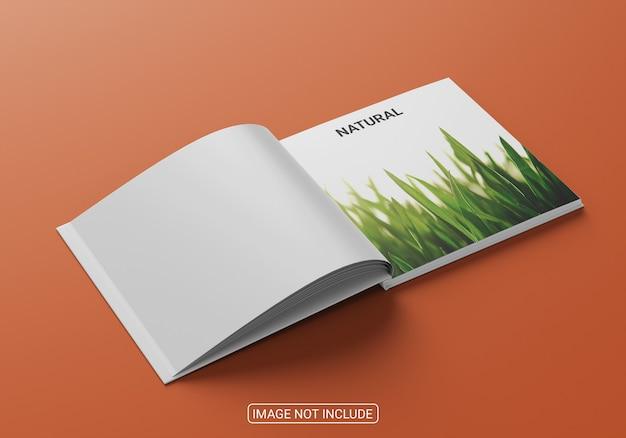 ビジネスのための正方形の本の表紙のモックアップデザイン Premium Psd