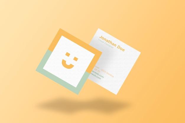 Square business card mockup concept psd file premium download square business card mockup concept premium psd colourmoves