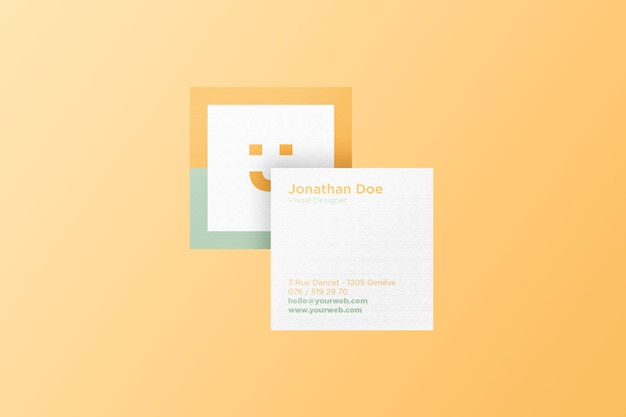 Square card mockup psd best car 2018 top 22 business card psd mockup templates in 2018 colorlib reheart