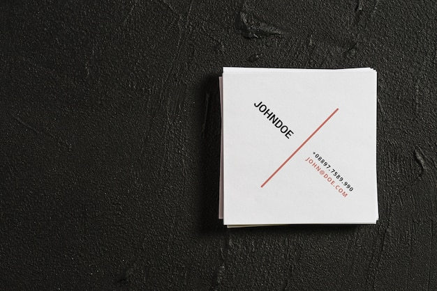 Square business card mockup psd file free download square business card mockup free psd reheart Gallery