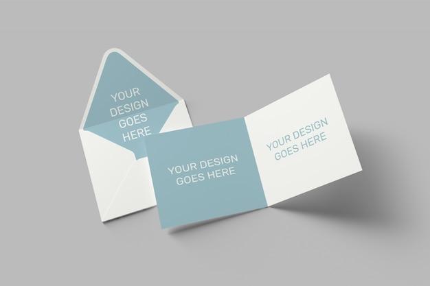 광장 초대장 및 인사말 카드 이랑 프리미엄 PSD 파일