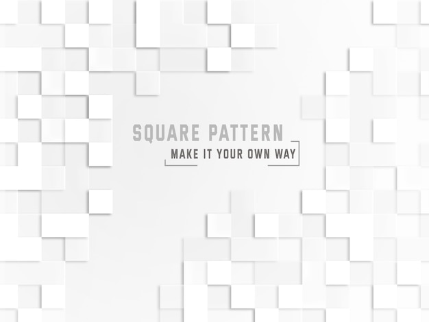 Square pattern background Free Psd