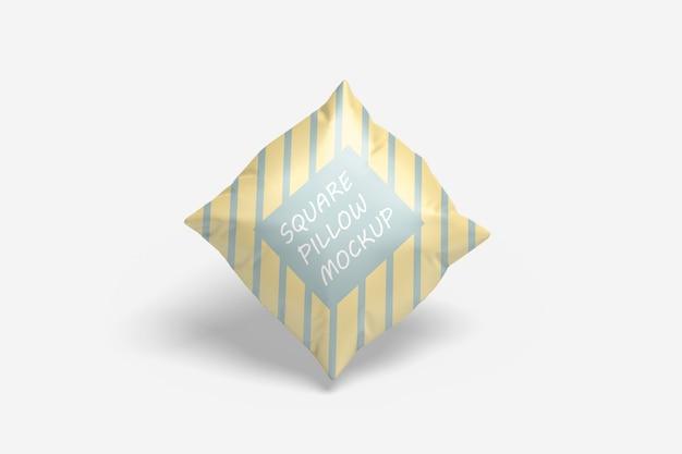 Квадратная подушка мокап Premium Psd