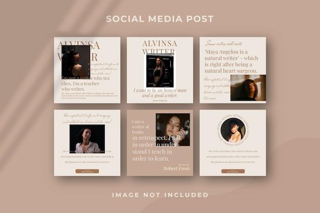 Premium Psd Square Social Media Post Instagram Template