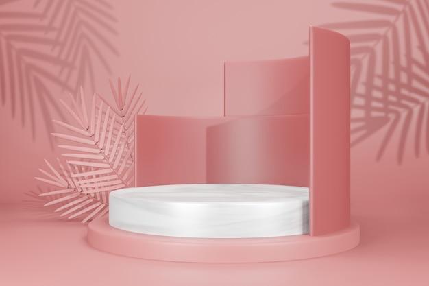 Сценический макет дисплей макет Premium Psd