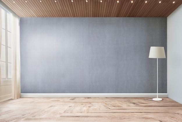 거실에 서있는 램프 무료 PSD 파일